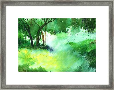 Lost In Thought Framed Print by Anil Nene