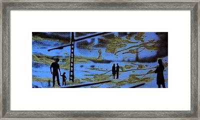 Lost In Translation - Serigrafia Arte Urbano Framed Print by Arte Venezia