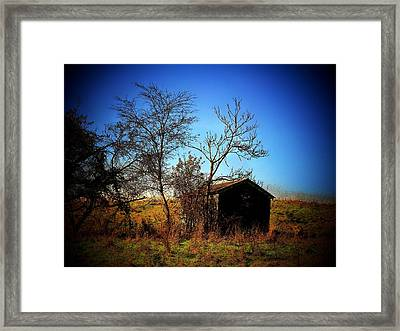 Lost Shed Framed Print by Joyce Kimble Smith