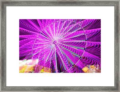 Lotus Ferris Framed Print by Lynda Dawson-Youngclaus