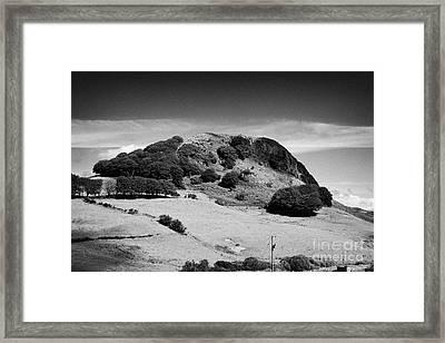 Loudoun Hill East Ayrshire Scotland Uk United Kingdom Framed Print by Joe Fox