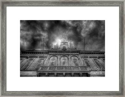 Loughborough Town Hall Framed Print by Yhun Suarez