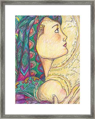 Love  Came Down At Christmas Framed Print by Michele Hollister - for Nancy Asbell