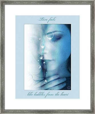 Love Feels... Framed Print by Gun Legler