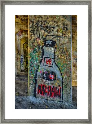 Love Graffiti Framed Print by Susan Candelario