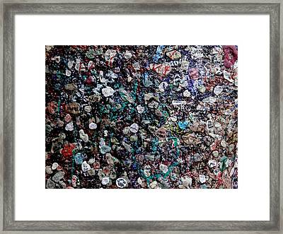 Love In Gum Framed Print by Keith Stokes