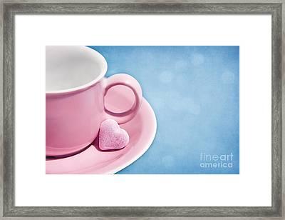 Love Framed Print by VIAINA Visual Artist