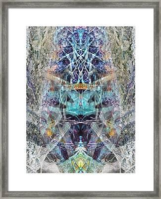 Lovefest Framed Print by Lynzi Wildheart
