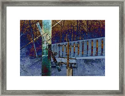 Loveland Bridge Framed Print by Robert Glover