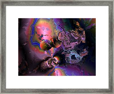 Lovers Lane Framed Print by Claude McCoy