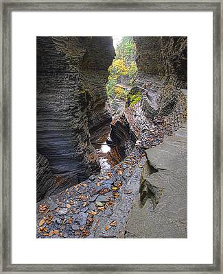 Low Water Framed Print by Joshua House