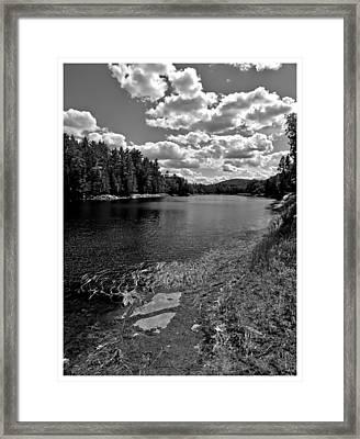 Lower Madawaska River Framed Print by Yves Pelletier
