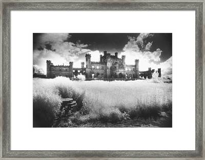 Lowther Castle Framed Print by Simon Marsden