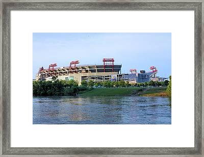 Lp Field Nashville Tennessee Framed Print by Kristin Elmquist