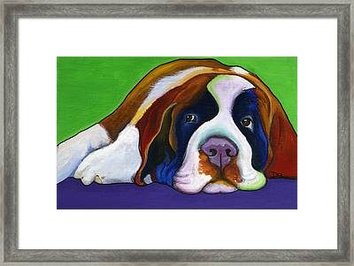 Lucy Framed Print by Debbie Brown