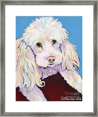 Lucy Framed Print by Pat Saunders-White
