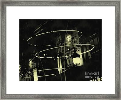 Luminaires - Paris - France  Framed Print by Francoise Leandre