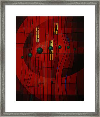 Luminous Symphony Framed Print by Alberto D-Assumpcao