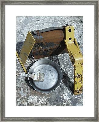 Lunch Pail Framed Print by Todd Sherlock
