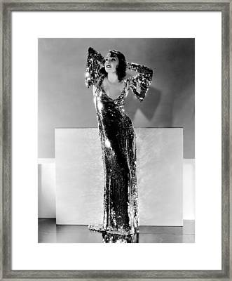 Lupe Velez, Ca. Early 1930s Framed Print by Everett