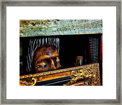 Lurking Framed Print by Christopher Holmes