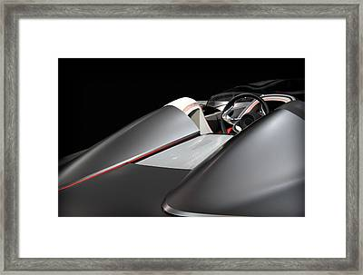 Luxury Sport Car Bmw Framed Print by Radoslav Nedelchev