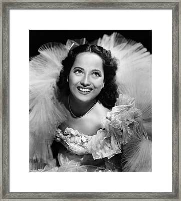 Lydia, Merle Oberon, 1941 Framed Print by Everett