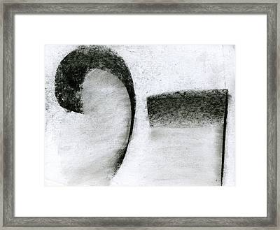 Lyrical Tabs Framed Print by Taylor Pam