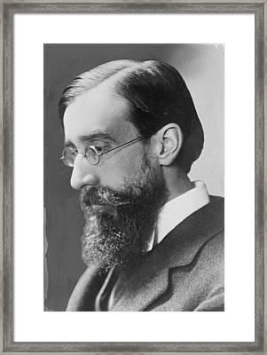 Lytton Strachey 1880-1932 English Framed Print by Everett