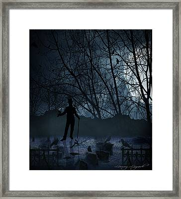 Macabre Framed Print by Lourry Legarde
