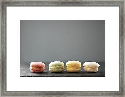 Macarons Framed Print by Shawna Lemay