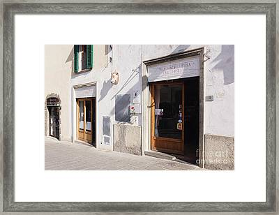 Macelleria Framed Print by Jeremy Woodhouse