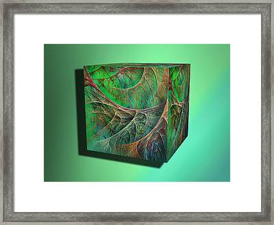 Machinetosh Root Framed Print by Betsy C Knapp