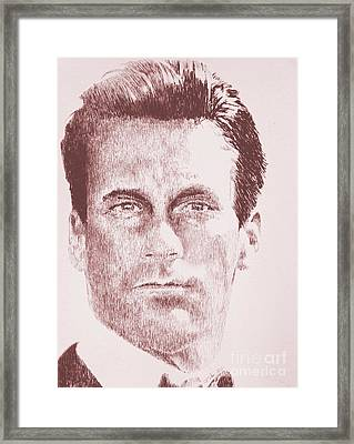 Mad Man Framed Print by Robbi  Musser