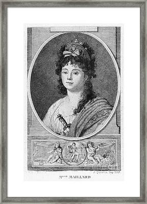 Mademoiselle Maillard Framed Print by Granger