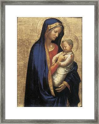 Madonna Casini Framed Print by Tommaso Macassio