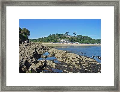 Maenporth - Cornwall  Framed Print by Rod Johnson