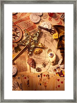 Magic And Mysticism  Framed Print by Garry Gay