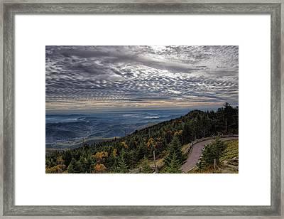 Magic Autumn Morning Framed Print by Daniel Lowe