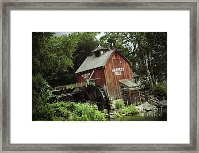 Magic Kingdom - Harper's Mill Framed Print by AK Photography