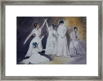 Magic Framed Print by Patsy Sharpe