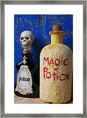 Magic Potion Framed Print by Garry Gay