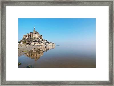 Magical Mont Saint-michel Framed Print by Paul Biris