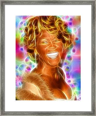 Magical Whitney Framed Print by Paul Van Scott