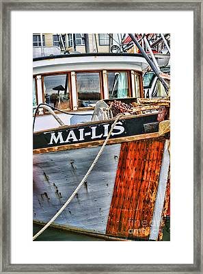 Mai-lis Tug-hdr Framed Print by Randy Harris