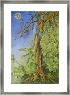 Maiden - Earth Mother Iv   Framed Print by Patsy Sharpe