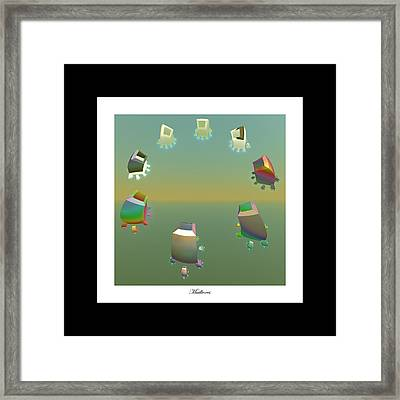 Mailboxes Framed Print by Betsy Knapp