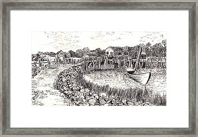 Maine Framed Print by Jimmy McAlister