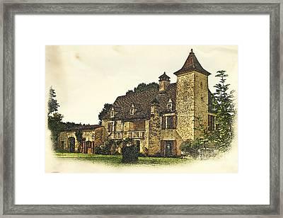 Maison De Martelet Framed Print by Paul Topp