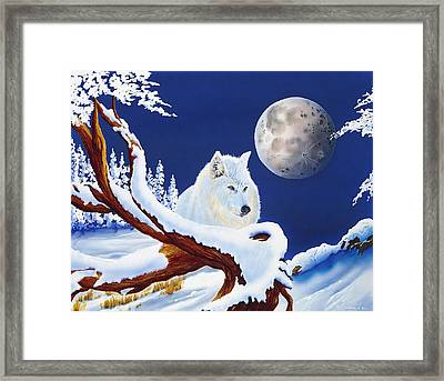 Majestic Framed Print by Deborah Ellingwood